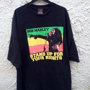 Bob Marley Stand Up For Your Rights Shirt 5XL Zion